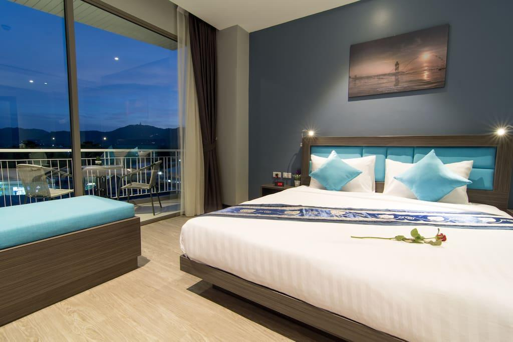 The Blue Phuket Deluxe1  Sea View And Mountain View