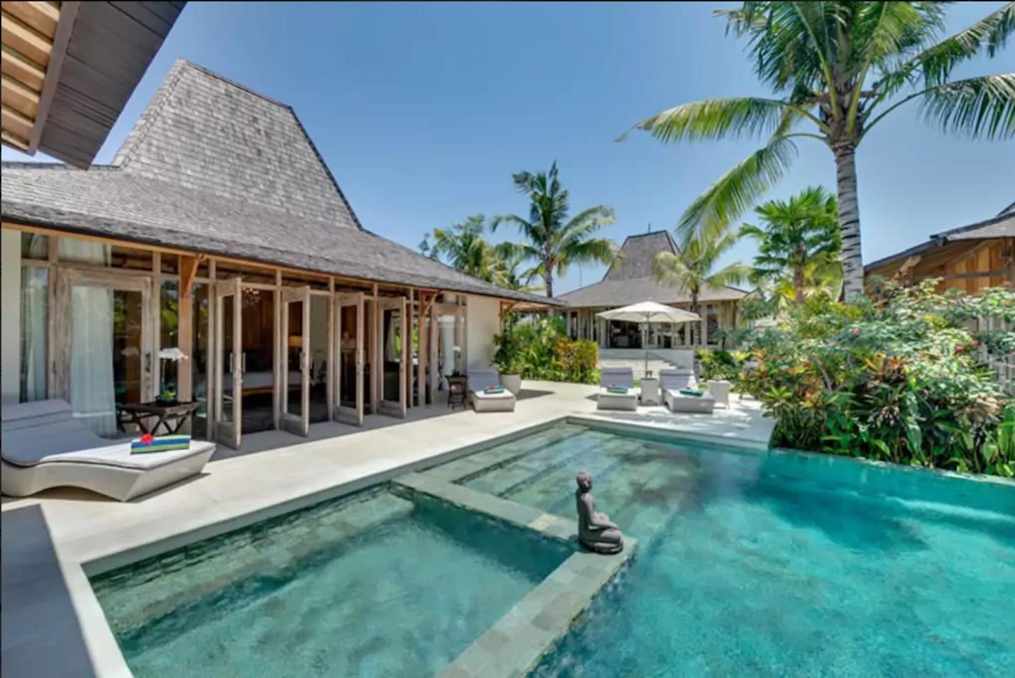 Elegant Teak Villa In Canggu  50m From Beach Surf