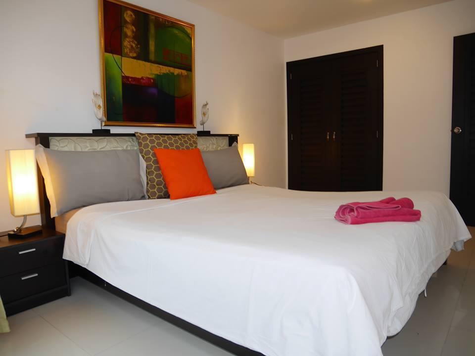 2-Bedrooms Deluxe Terrace Studio Apartment B33 อพาร์ตเมนต์ 2 ห้องนอน 1 ห้องน้ำส่วนตัว ขนาด 90 ตร.ม. – หาดละไม