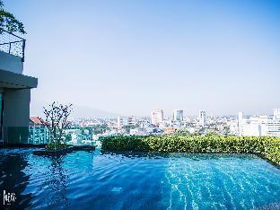 [チャンカラン]アパートメント(33m2)| 1ベッドルーム/1バスルーム [hiii]Vanda*ChangklanRoad*NightBazaar*Pool-CNX015