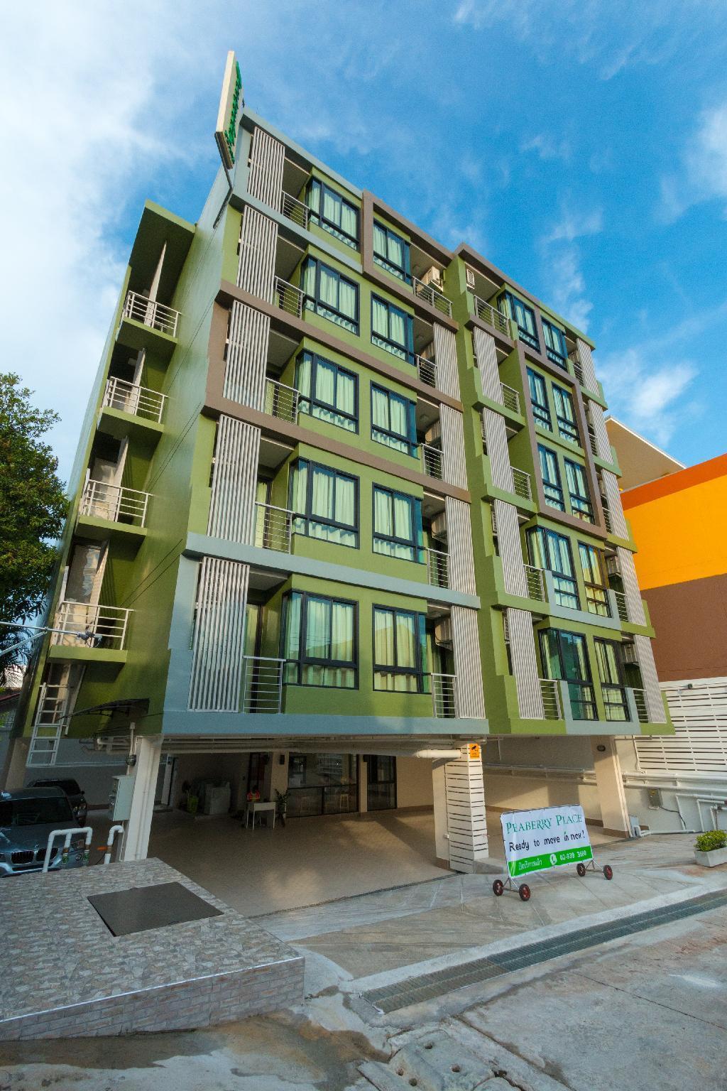 Peaberry Place, Stay Stylish in Quiet Neighborhood สตูดิโอ อพาร์ตเมนต์ 1 ห้องน้ำส่วนตัว ขนาด 26 ตร.ม. – รัชดาภิเษก