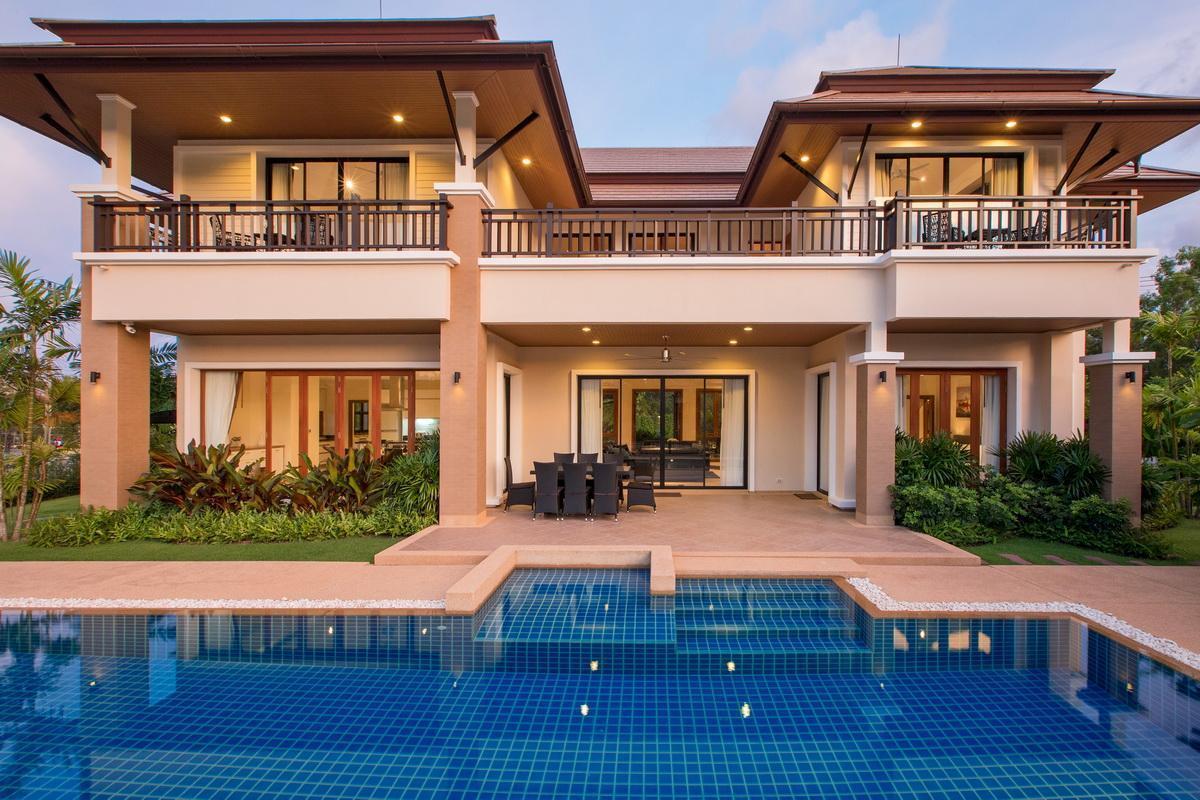 Luxury 4 Bed Lake View Pool Villa วิลลา 4 ห้องนอน 4 ห้องน้ำส่วนตัว ขนาด 1500 ตร.ม. – บางเทา