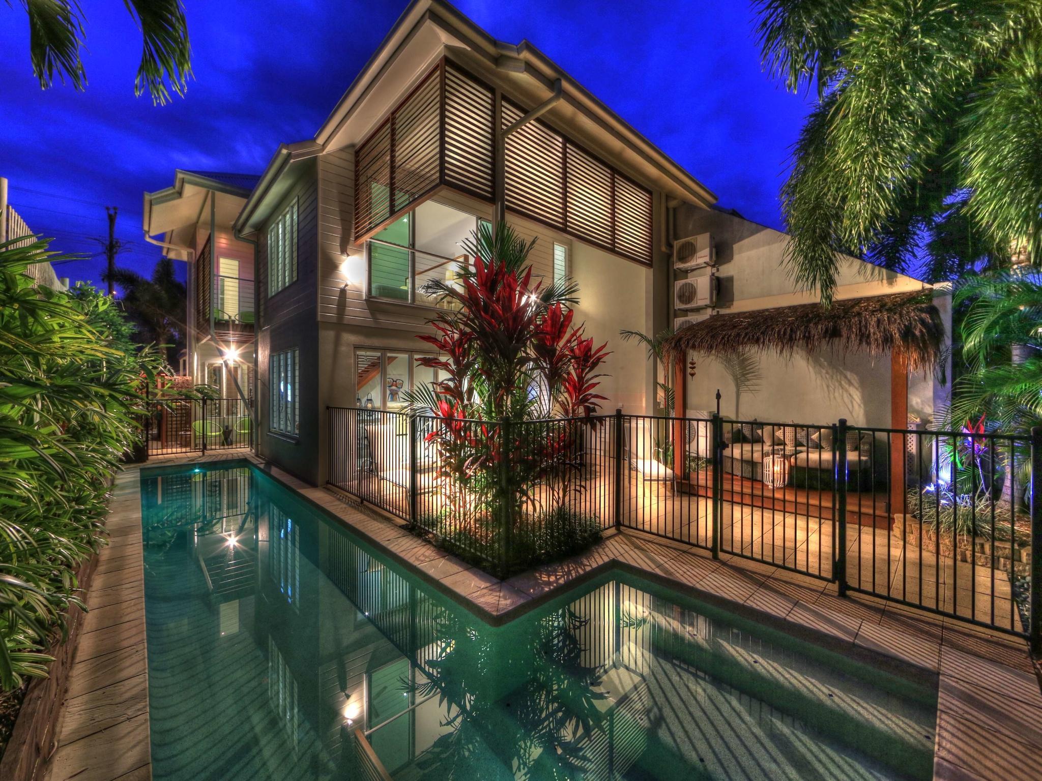 Deja Vu Palm Cove Private House Heated Pool 3 King