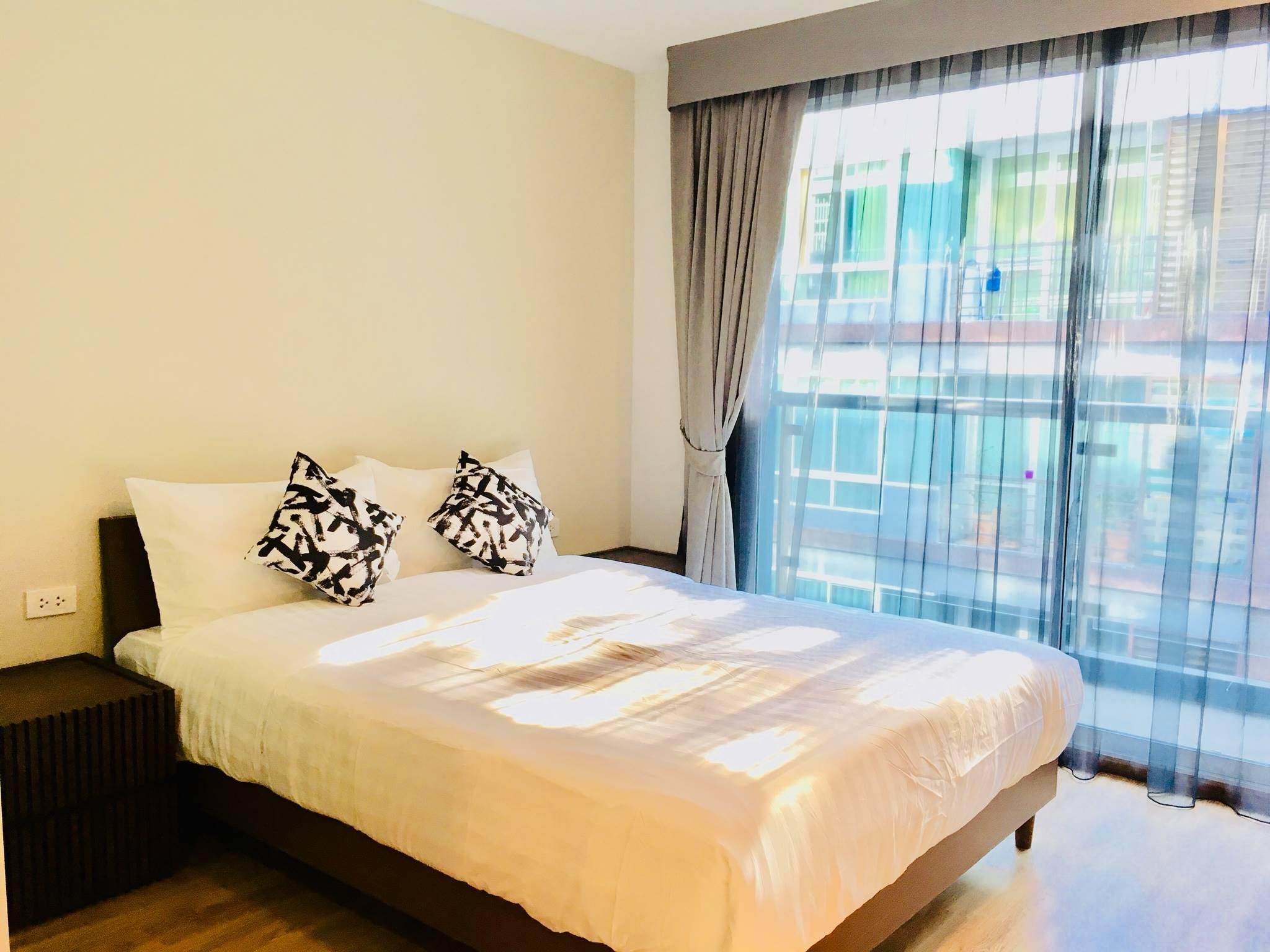 Comfy Big Bedroom, Near BTS Punnawithi-22- สตูดิโอ อพาร์ตเมนต์ 1 ห้องน้ำส่วนตัว ขนาด 35 ตร.ม. – สุขุมวิท