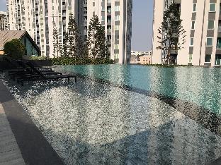 [ラチャダーピセーク]スタジオ アパートメント(23 m2)/1バスルーム Citycondo MRT Ratchada Huaykwang bangkok thailand.