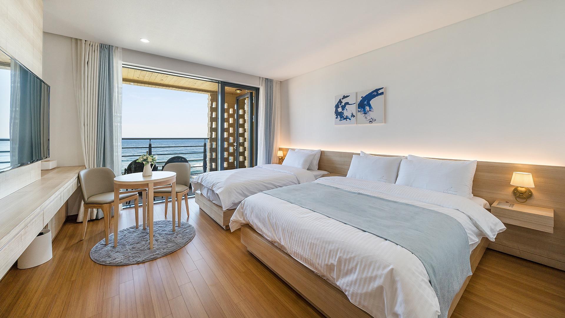 Gangmun Beach Modern Hotel Blue Stay