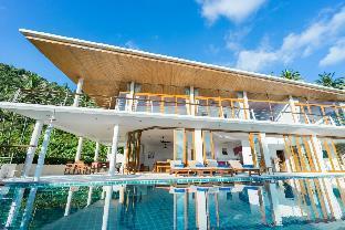 [ナームアン]ヴィラ(250m2)| 4ベッドルーム/4バスルーム 4 BR Pool Villa - 10 Mins Lamai Beach - For Groups