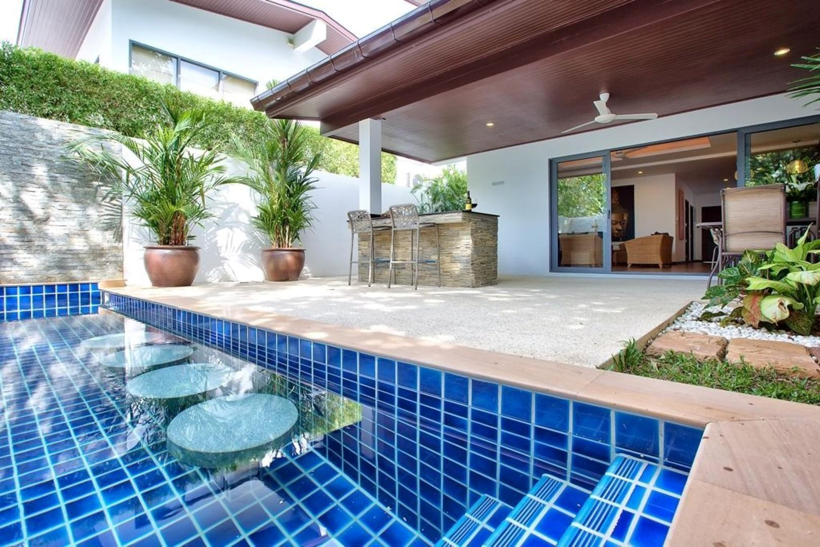 3 BEDROOM VILLA With PRIVATE POOL   CLOSE TO BEACH