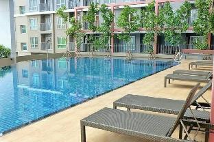 [チャトチャック]アパートメント(30m2)| 1ベッドルーム/1バスルーム Modern Swimming Pool View @ Rich park Taopoon