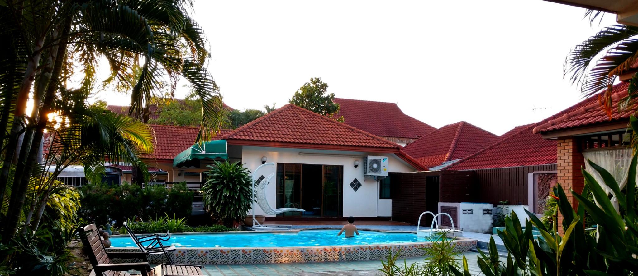 Modern amenities, free shuttle and private pool! บังกะโล 1 ห้องนอน 1 ห้องน้ำส่วนตัว ขนาด 55 ตร.ม. – สันทราย
