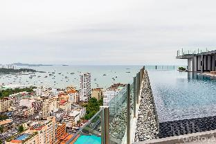 Peaceful Sky pool w Panoramic View 1BR Pattaya อพาร์ตเมนต์ 1 ห้องนอน 1 ห้องน้ำส่วนตัว ขนาด 30 ตร.ม. – หาดจอมเทียน