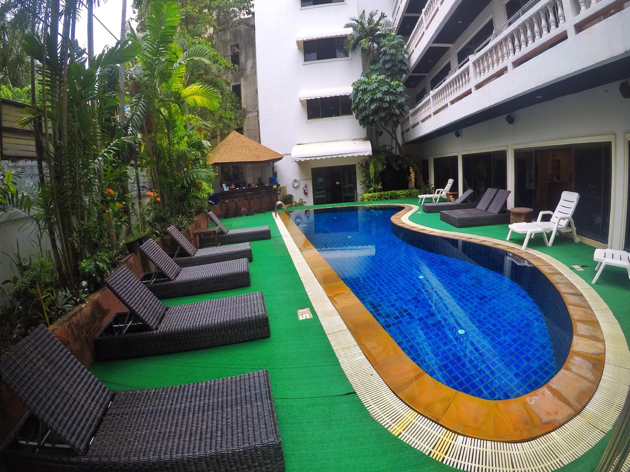 Beautiful 3 Bd Hotel Style Apartment In Patong  B