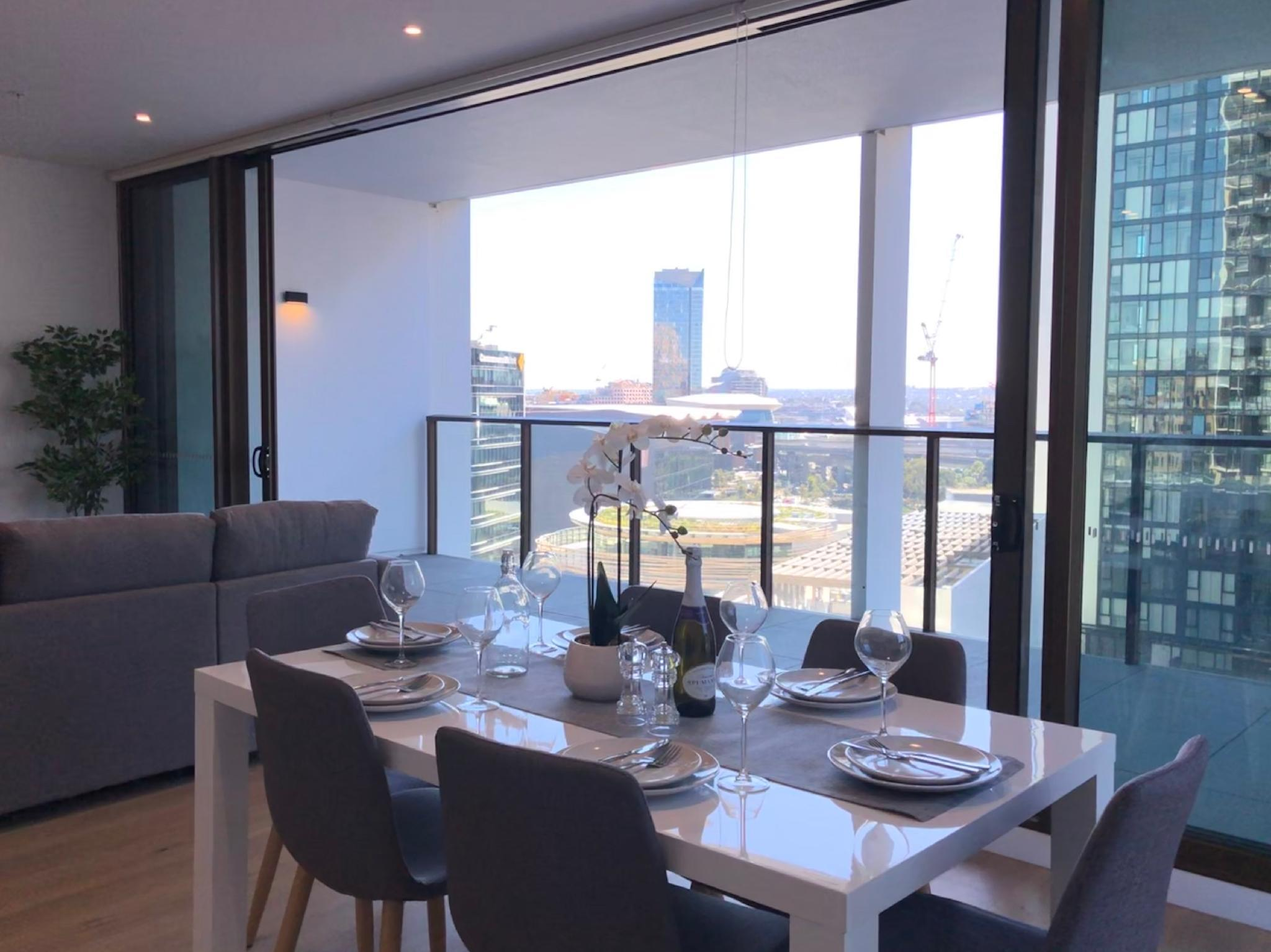 Premium Darling Harbour 2 BR With Fireworks View