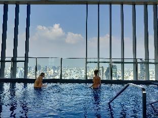 [スクンビット]アパートメント(30m2)  1ベッドルーム/1バスルーム Rooftop pool gym luxury cozy condo free wifi 628