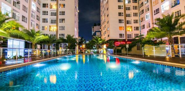 Cozy luxury 1BR apt near airport &city center! A12 Ho Chi Minh City