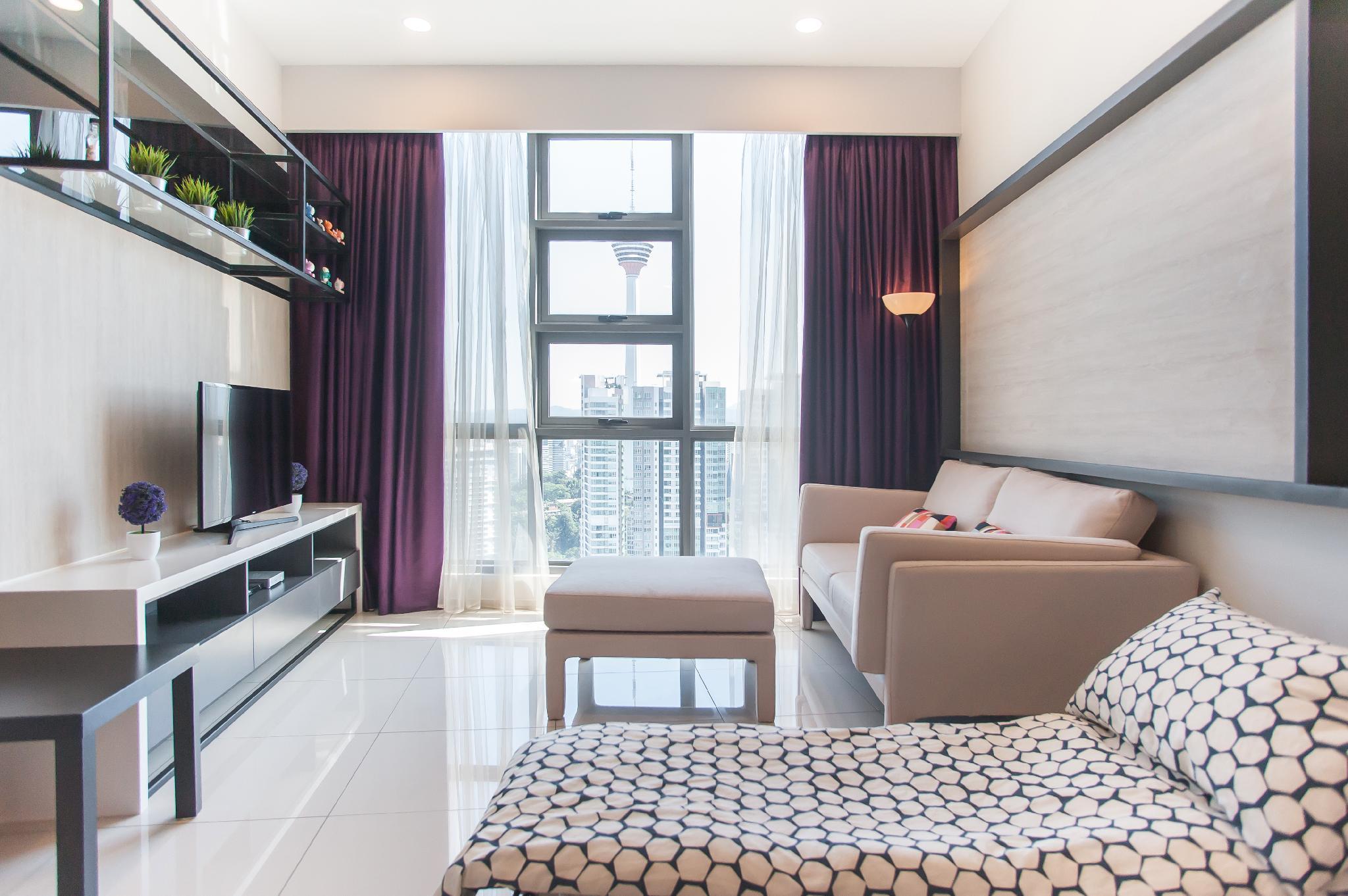 The Robertson 1B1R Bukit Bintang High Floor@W4
