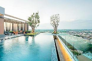 [コンケーンショッピングセンター周辺]アパートメント(30m2)| 1ベッドルーム/1バスルーム Sky Pool Panoramic City view CentralPlaza 5minWalk