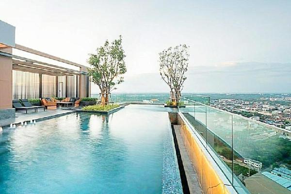 Sky Pool Panoramic City view CentralPlaza 5minWalk Khon Kaen