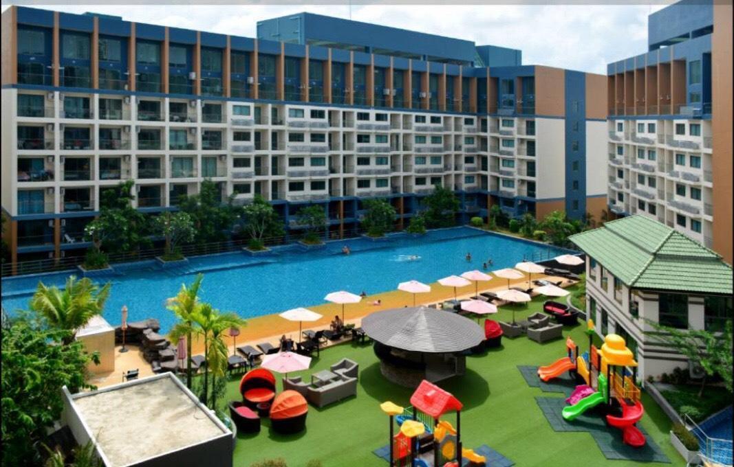 Pattaya Laguna Beach Resort2* Chill 1 Bedroom อพาร์ตเมนต์ 1 ห้องนอน 1 ห้องน้ำส่วนตัว ขนาด 35 ตร.ม. – หาดจอมเทียน