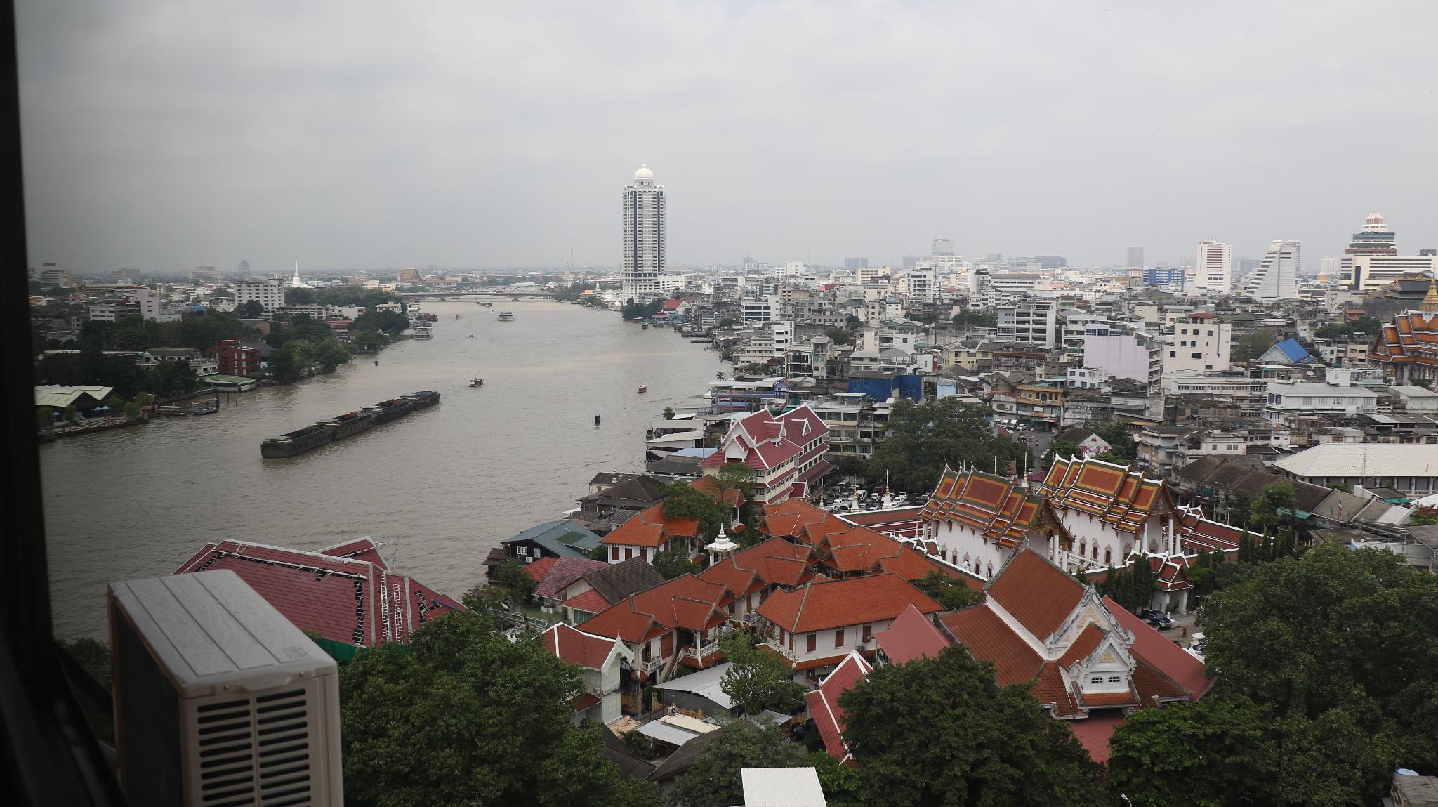 Spacious room with river view*Near MRT (205) อพาร์ตเมนต์ 1 ห้องนอน 1 ห้องน้ำส่วนตัว ขนาด 55 ตร.ม. – ริมแม่น้ำกรุงเทพ