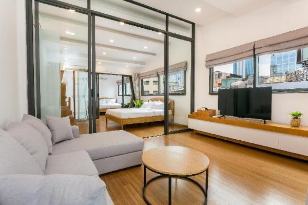 Rooftop Apartment - Splendid City Views Ho Chi Minh City