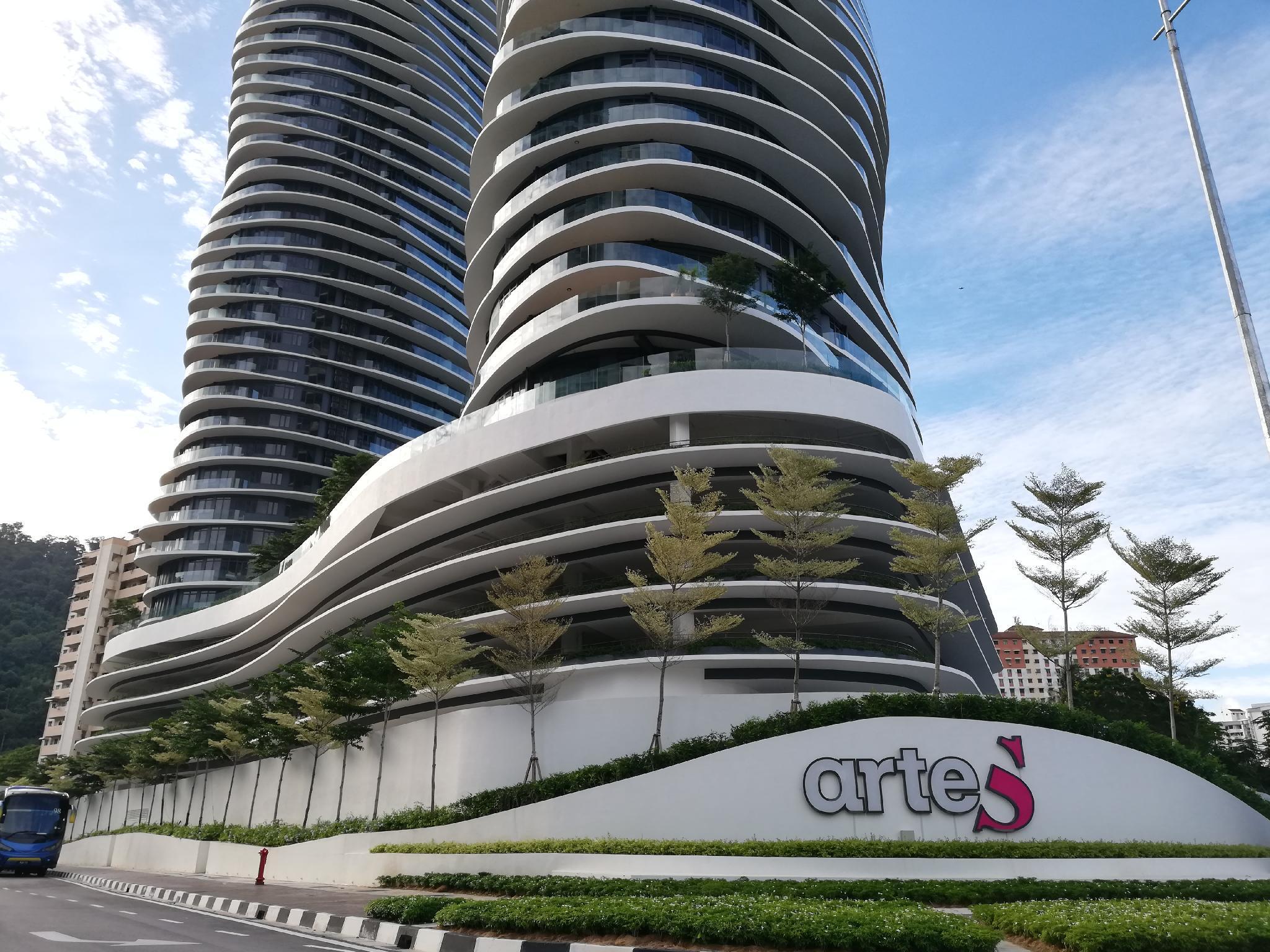 ArteS Penang For 10paxs .High Floor. Near USM