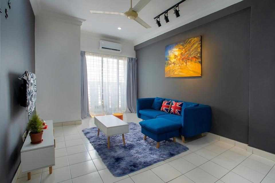 Comfortable 3BR For 6pax @Kepong * 2 Free Car Park