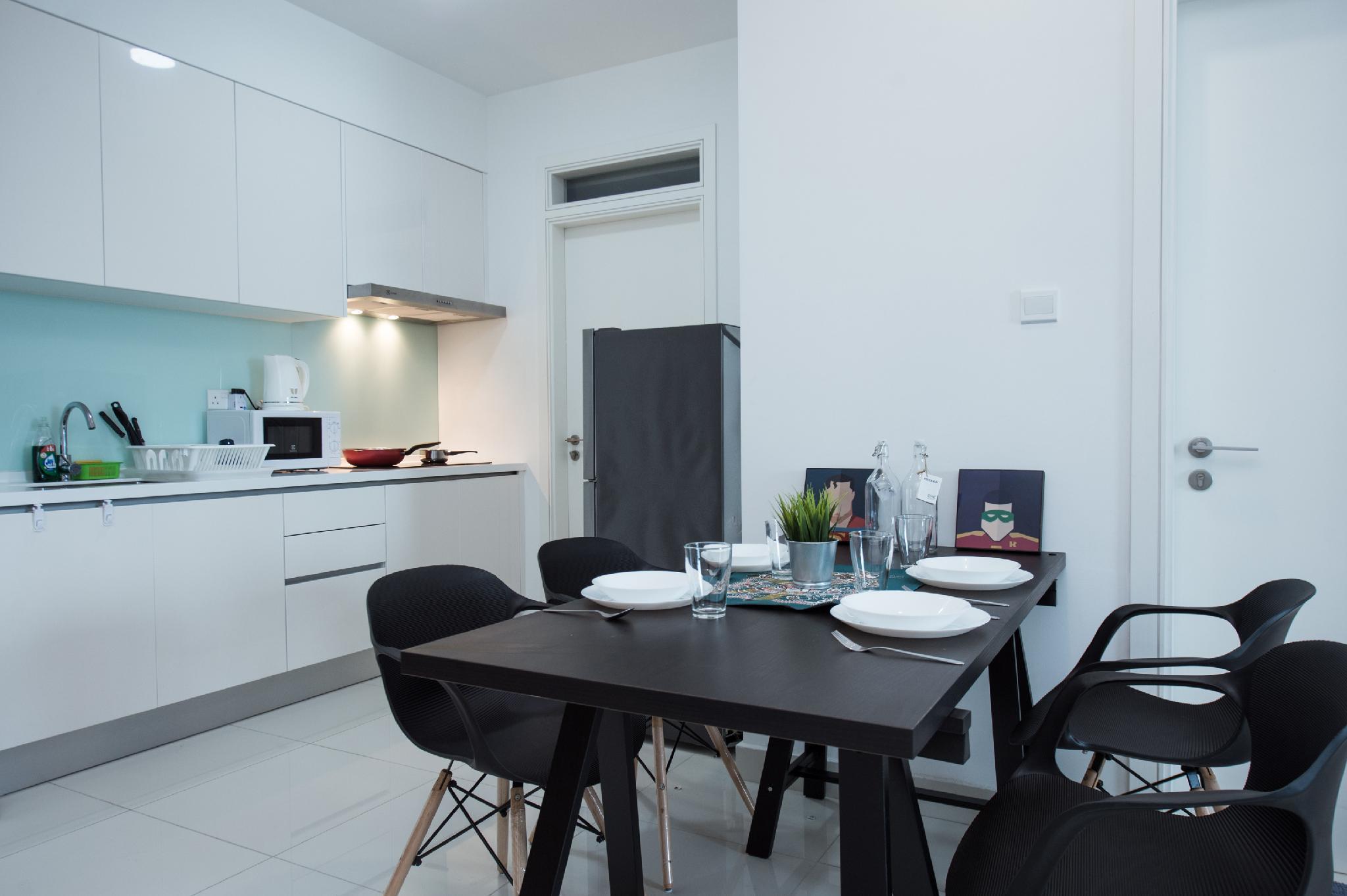 Teega Suites   1709  4Pax  Wifi @ JB City Home