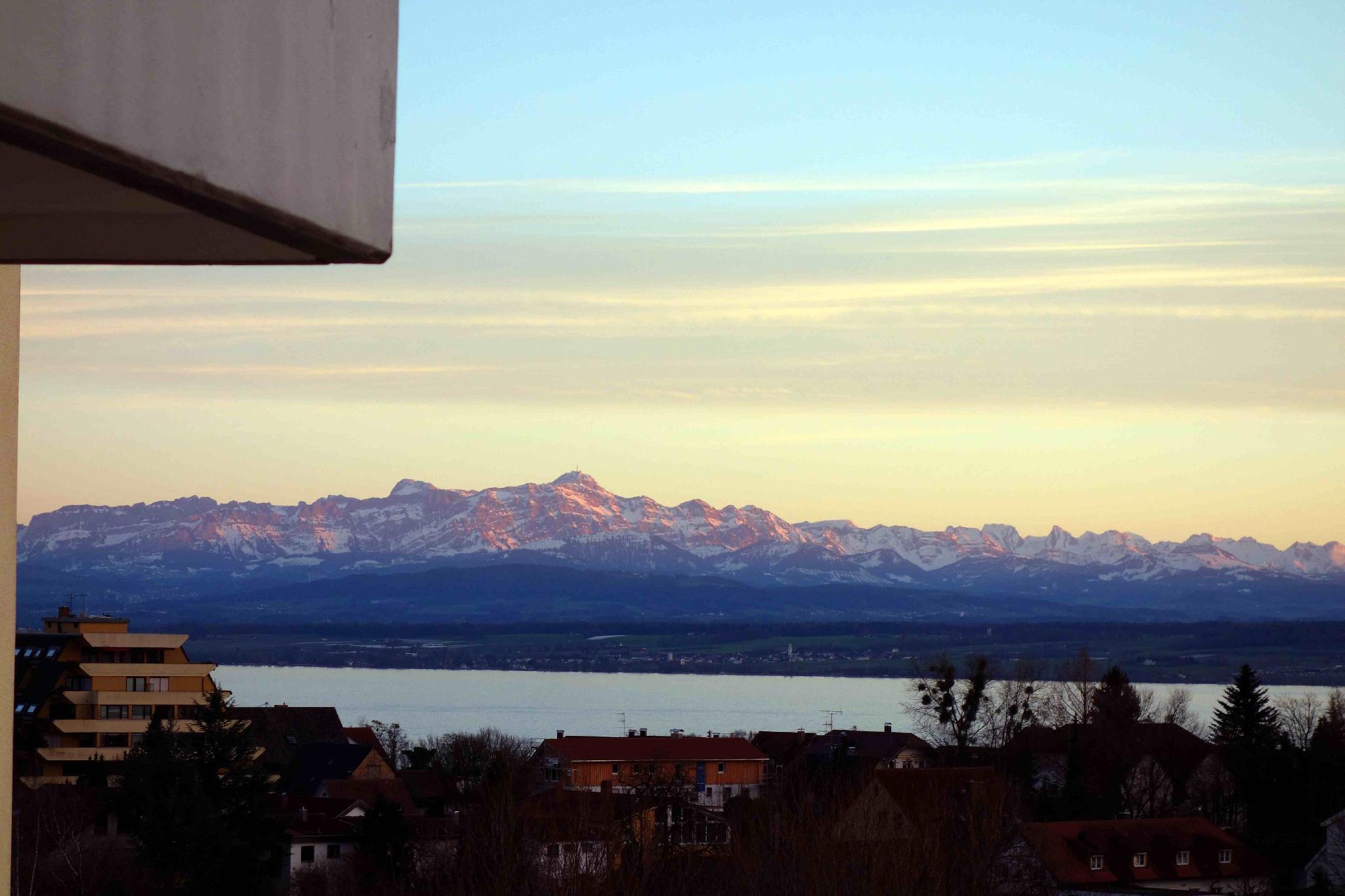Spacious Apartment With Lake And Alpine Views