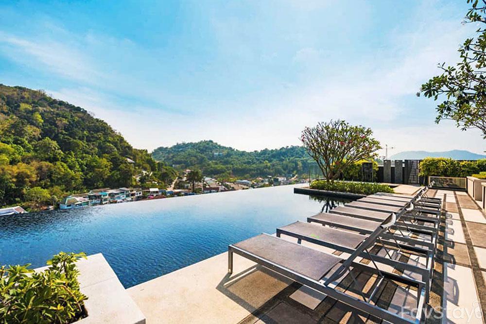 Sanctuary Sky Pool Rooftop 1BR Phuket City