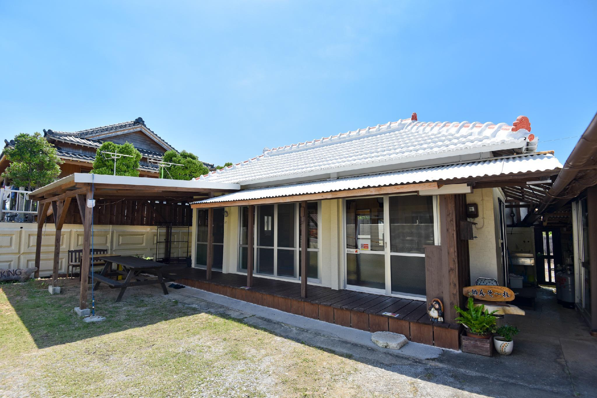 Okinawa Traditional House Renovated In Quiet Area