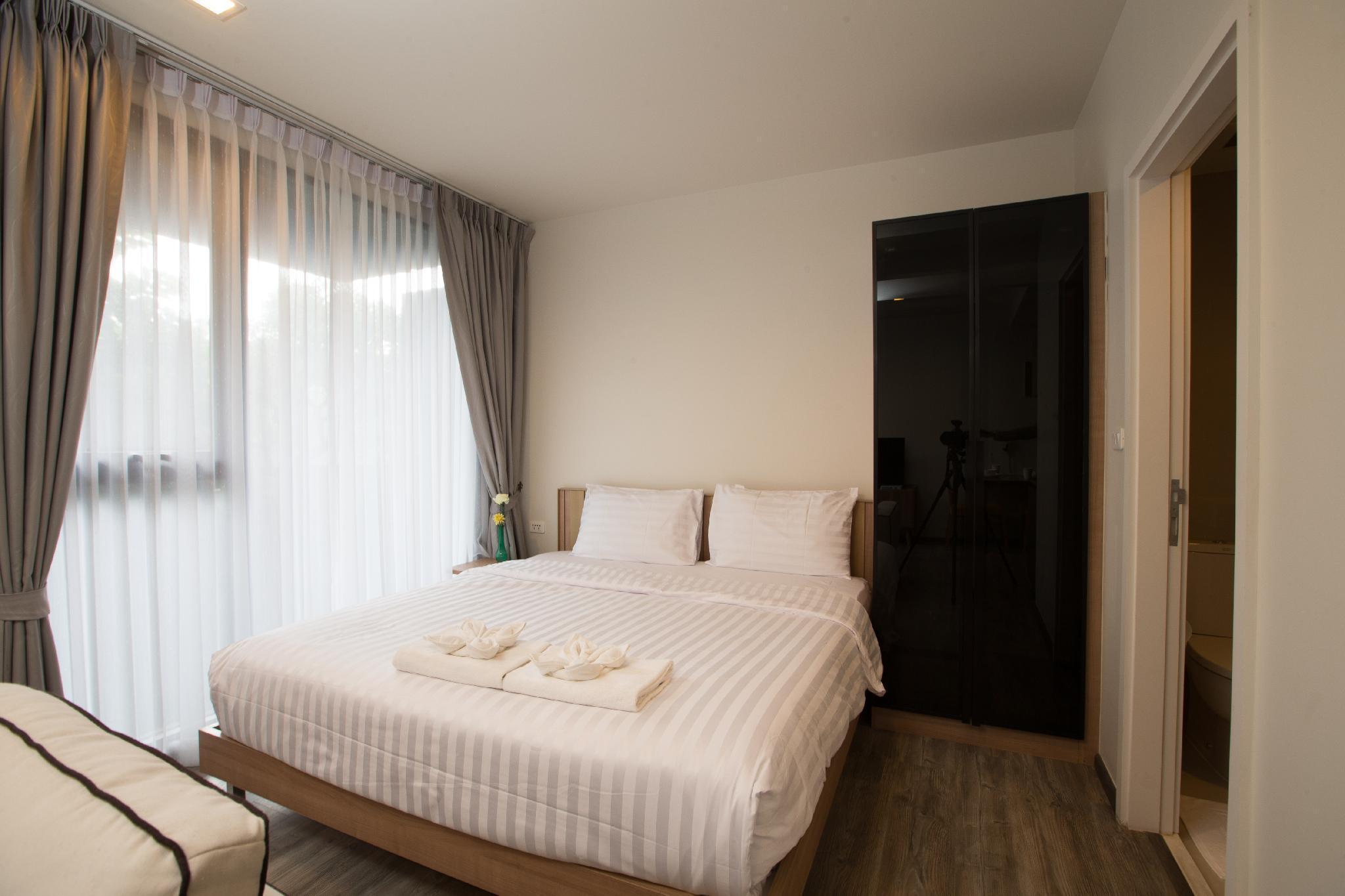 JS59东奢华公寓*无边泳池*酒吧街* 静舍之普吉  Patong 1BR Apartment อพาร์ตเมนต์ 1 ห้องนอน 1 ห้องน้ำส่วนตัว ขนาด 35 ตร.ม. – ป่าตอง