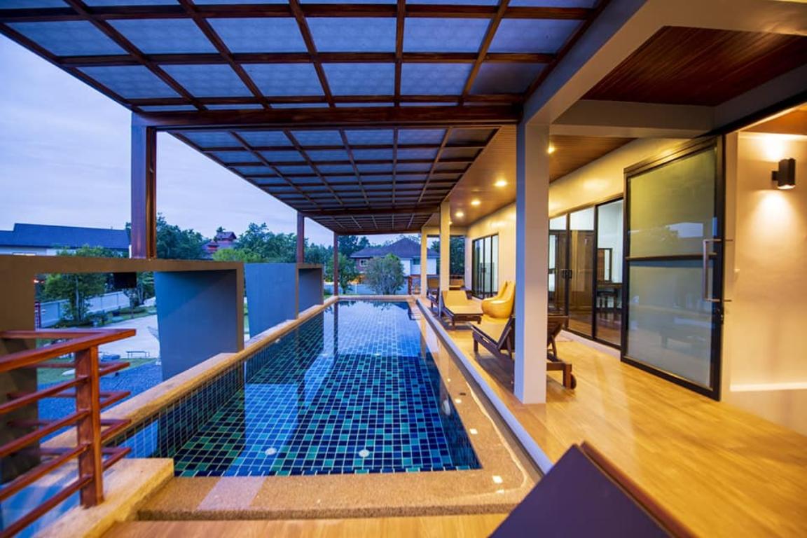 Private Pool villa & Green view วิลลา 3 ห้องนอน 4 ห้องน้ำส่วนตัว ขนาด 300 ตร.ม. – ตัวเมืองกระบี่