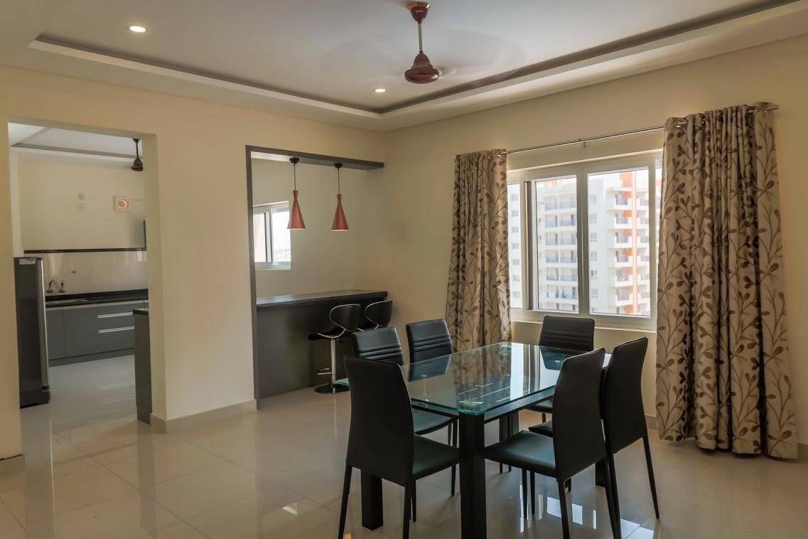 2 Bed Room Serviced Apartment   Hitec City