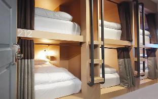 [ホアヒン市内中心地]アパートメント(15m2)| 1ベッドルーム/10バスルーム Cloud 9 Hotel Mixed Dorm 6 Beds