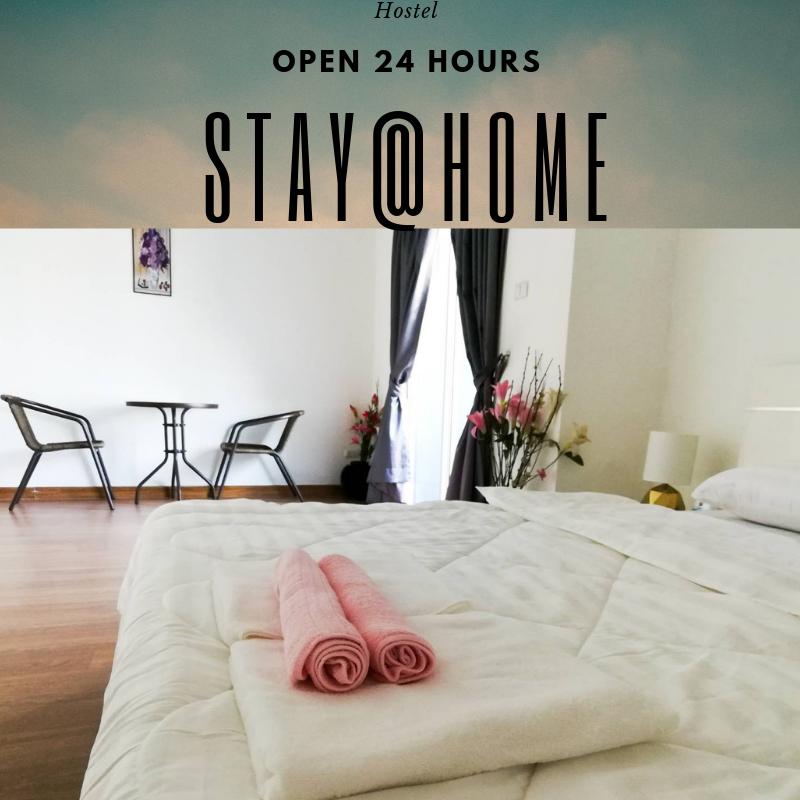 Stay@Home (Donmuang) วิลลา 3 ห้องนอน 2 ห้องน้ำส่วนตัว ขนาด 30 ตร.ม. – สนามบินนานาชาติดอนเมือง