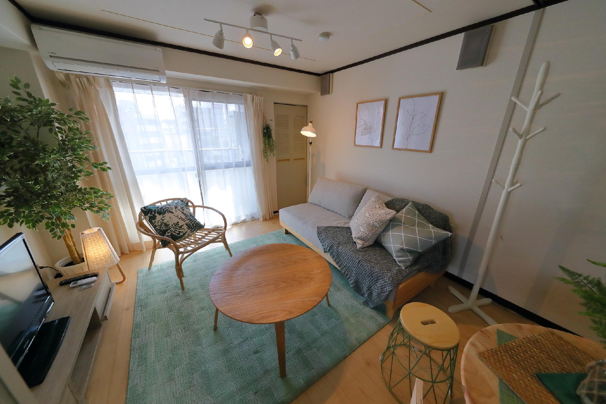 Apartment In Tennouji 602