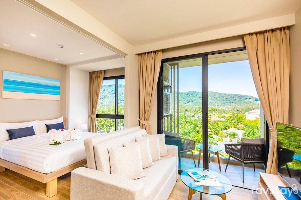 Phuket Deluxe Suite Resort with Breakfast อพาร์ตเมนต์ 1 ห้องนอน 1 ห้องน้ำส่วนตัว ขนาด 33 ตร.ม. – บางเทา