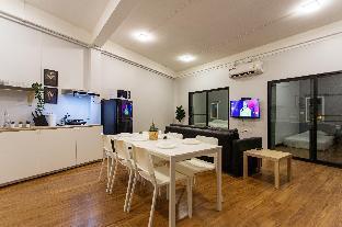 [スクンビット]アパートメント(70m2)| 2ベッドルーム/1バスルーム U4 Large 2 bed rooms full kitchen 200m to BTS