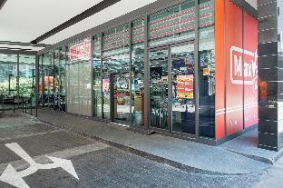 [チャトチャック]スタジオ アパートメント(52 m2)/1バスルーム B2 Large + Comfort full kitchen near MRT Bangson