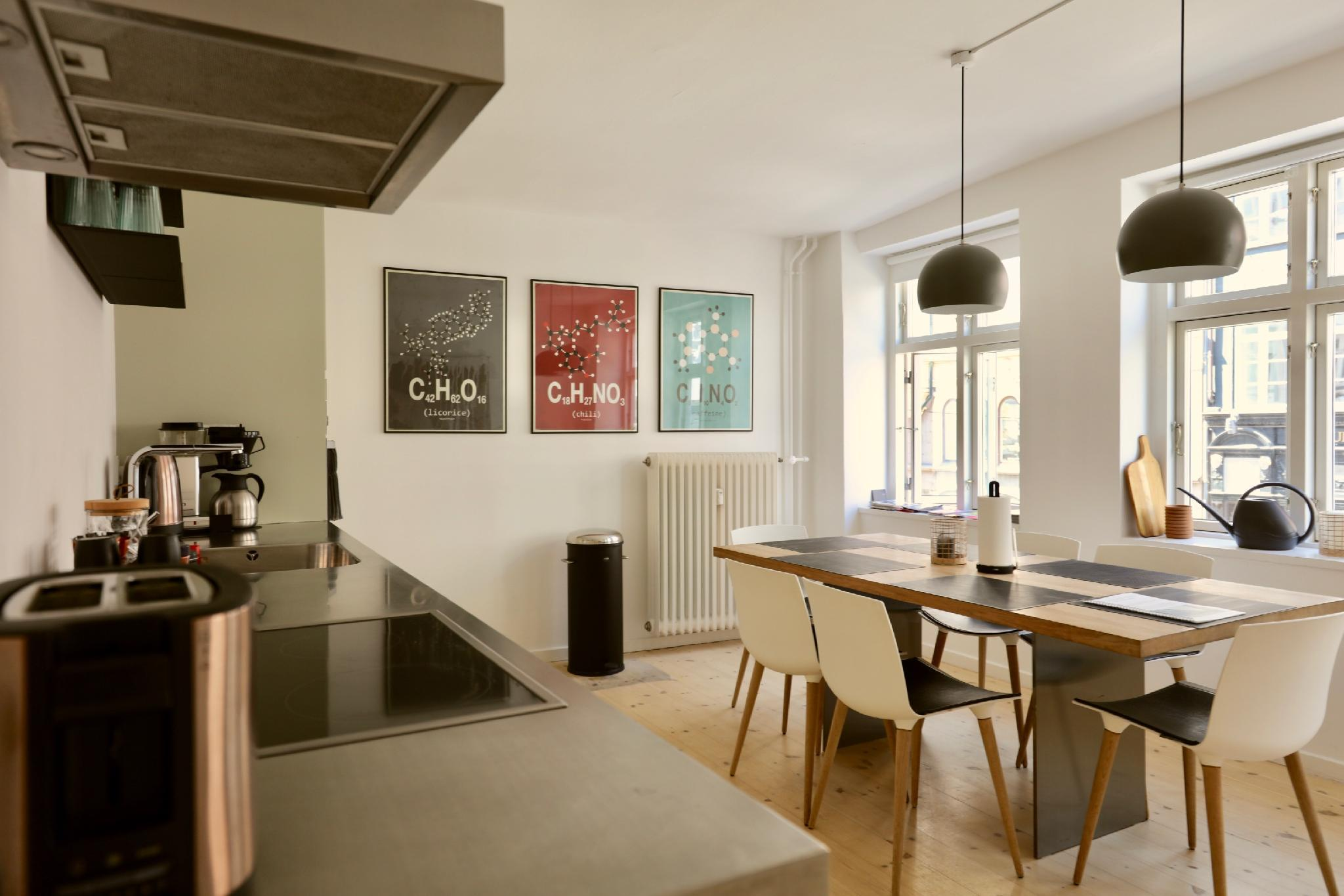 Dinesen Collection Two Storey Condo By Nyhavn