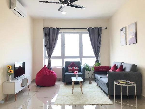 Cheras Mrt Link Bridge 2R1B 5Pax Cosy Family Suite Kuala Lumpur