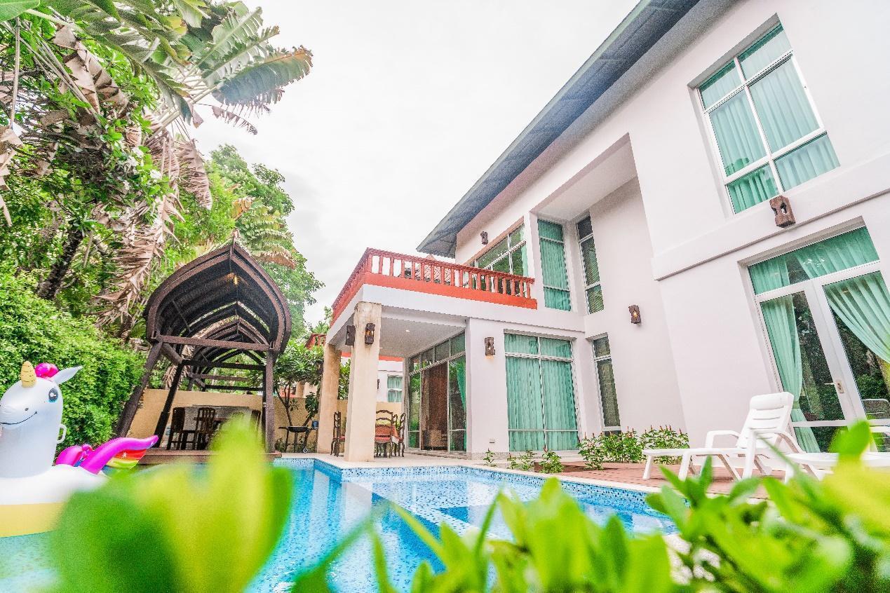 Nagawari 6 bedroom pool villa close to beach วิลลา 6 ห้องนอน 6 ห้องน้ำส่วนตัว ขนาด 500 ตร.ม. – นาจอมเทียน