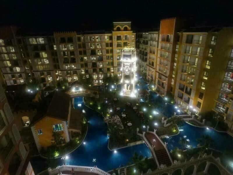 Venetain Signature Condo Resort Jomtien Pattaya อพาร์ตเมนต์ 1 ห้องนอน 1 ห้องน้ำส่วนตัว ขนาด 24 ตร.ม. – นาจอมเทียน