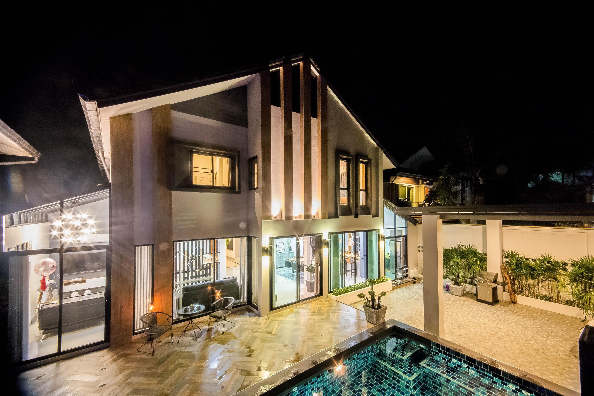 Chiang Mai 7-Bedroom Pool Villa วิลลา 7 ห้องนอน 7 ห้องน้ำส่วนตัว ขนาด 450 ตร.ม. – สันทราย