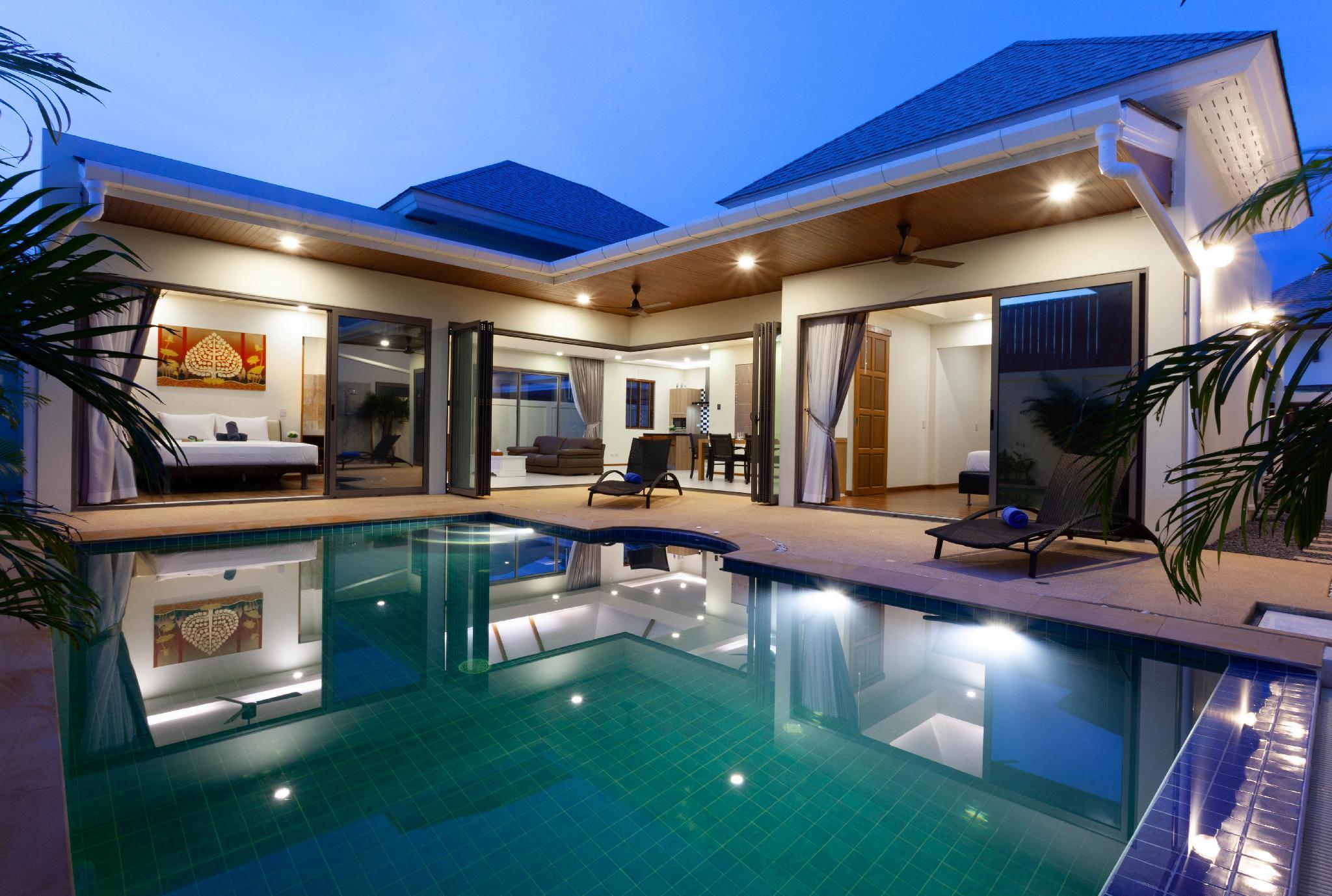 New Boutique Pool Villa Close To Rawai And Naiharn