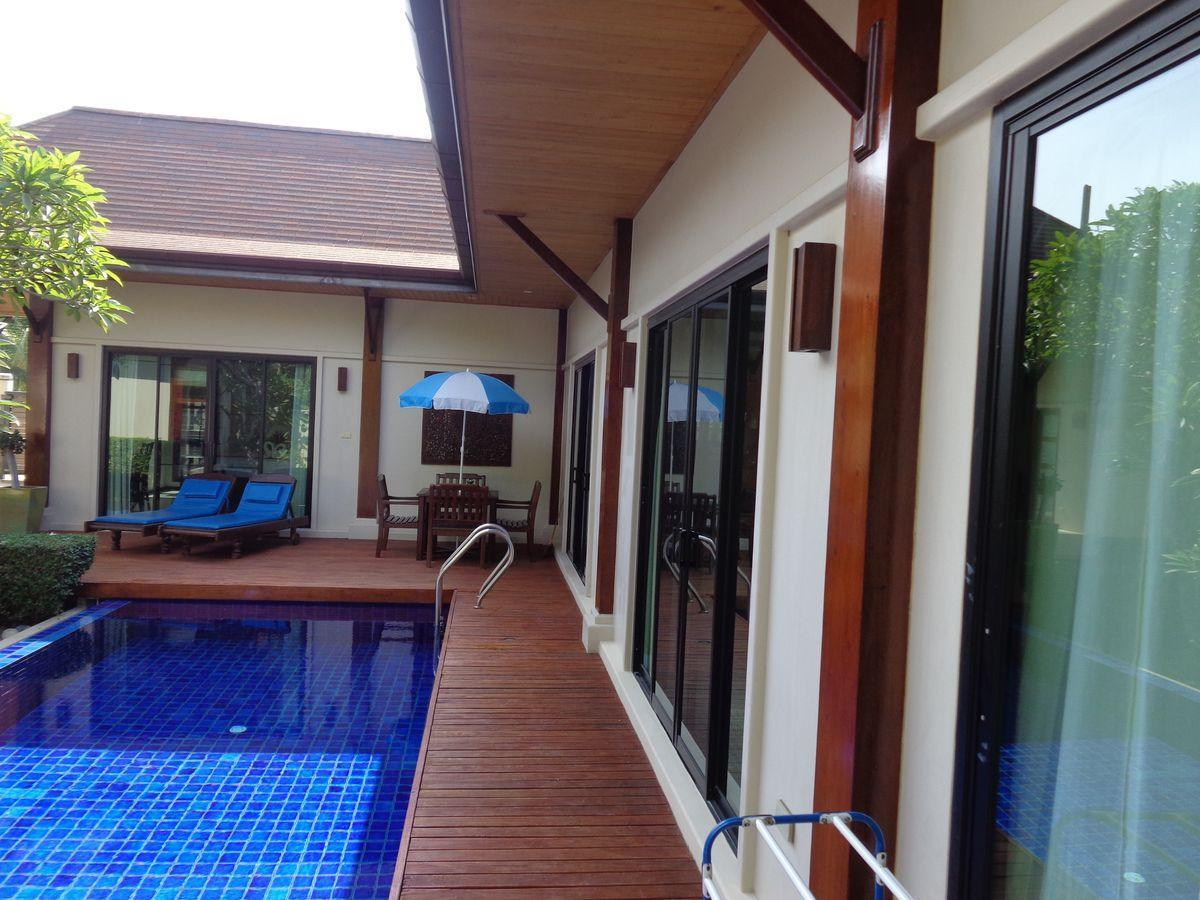 Superior three-bedroom Villa with private pool วิลลา 3 ห้องนอน 3 ห้องน้ำส่วนตัว ขนาด 170 ตร.ม. – ในหาน