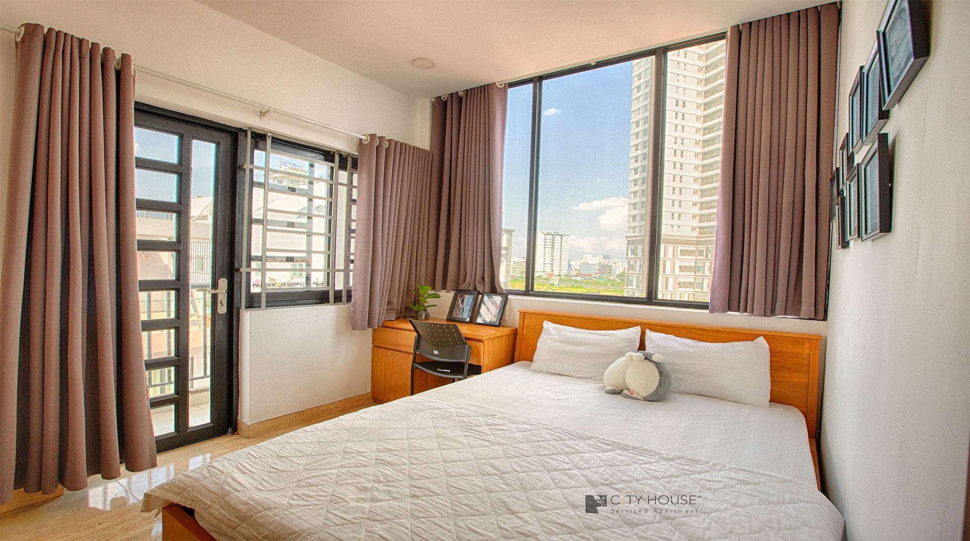 CityHouse   1Bedroom  Serviced Apartment Near D1