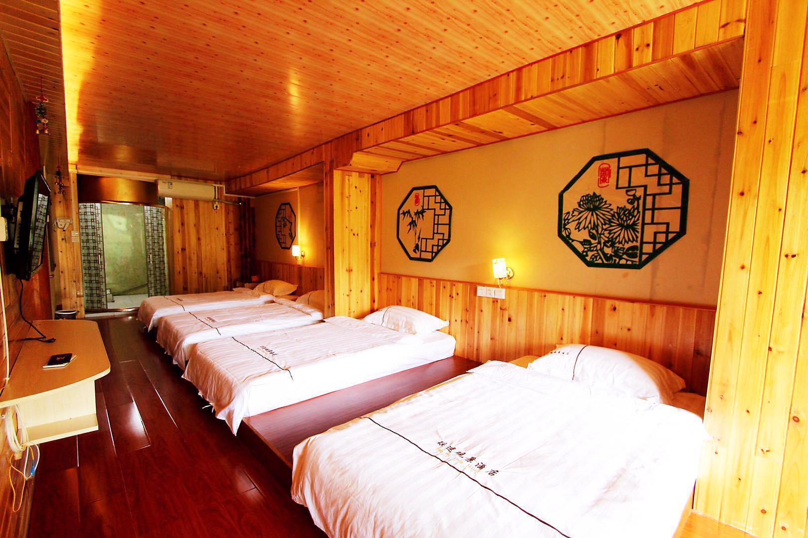 Tatami View Quadruple Room With Balcony