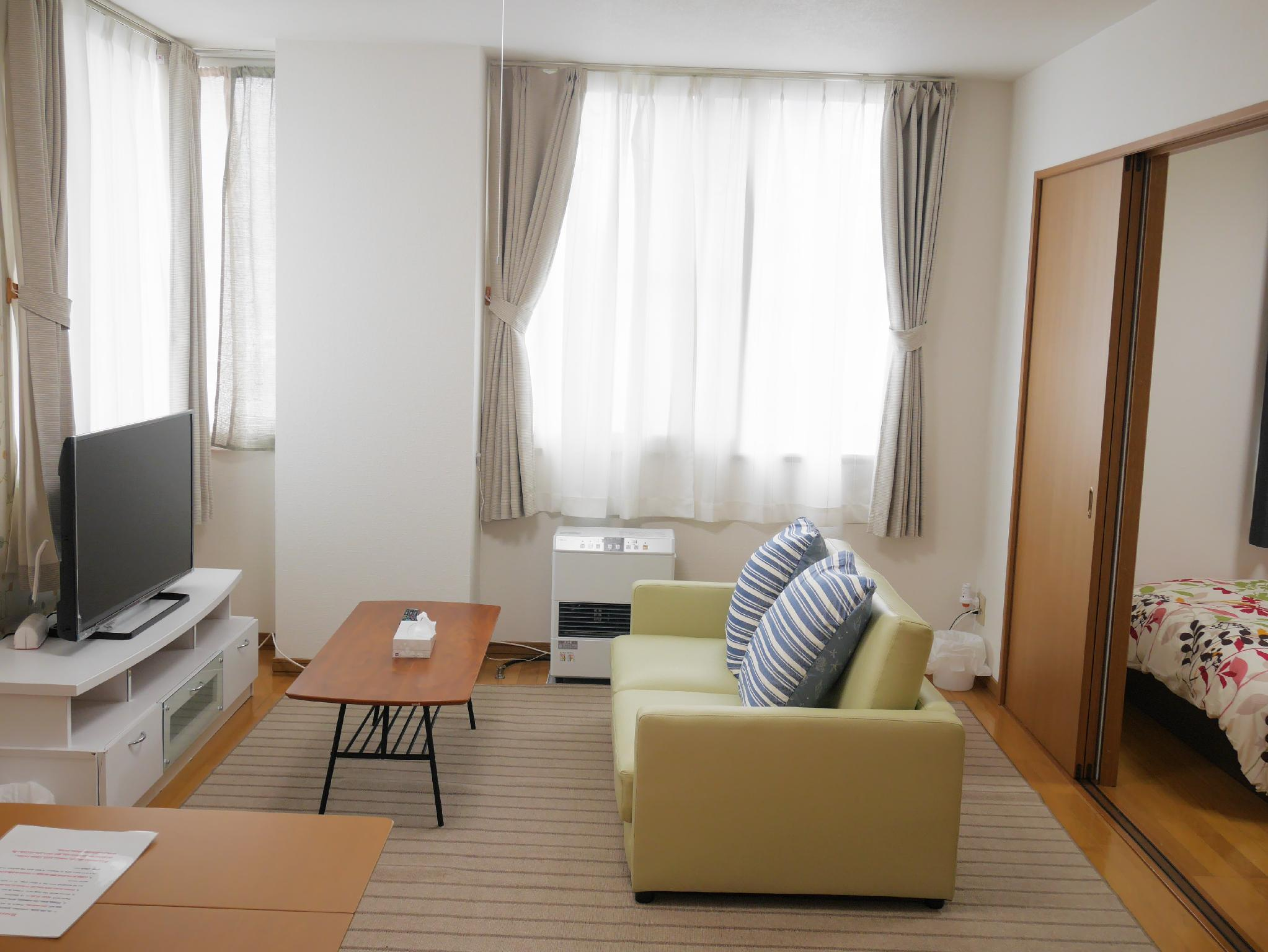 KB 1 Bedroom Apartment In Sapporo NK201